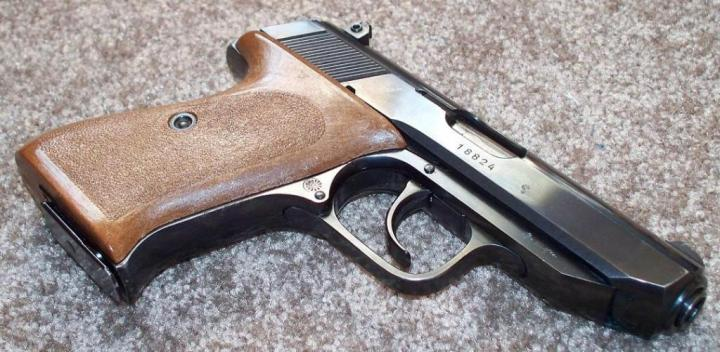 1978 Walther PP Super with brown grips